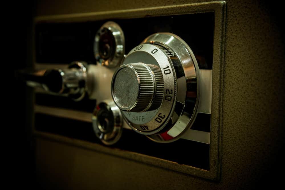 refurbished safety deposit box